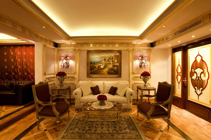 Classical style for Hotel design ligurie